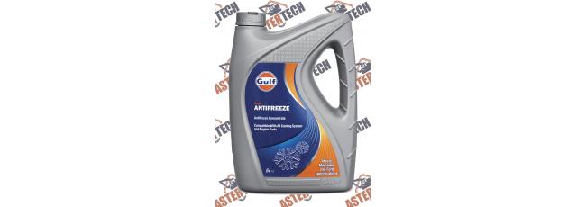 Охлаждающая жидкость Gulf Antifreeze 5L