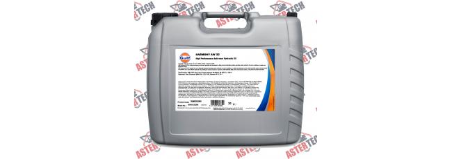 Гидравлическое масло GULF HARMONY AW 32 20L