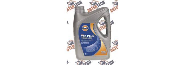 Моторное масло Gulf Tec Plus 10W-40 4L